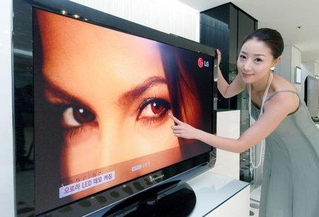 LED-экран в телевизоре LG