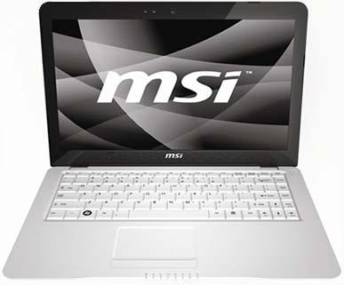 ноутбук MSI X-Slim 340
