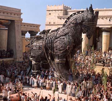 Как прячут троянских коней?